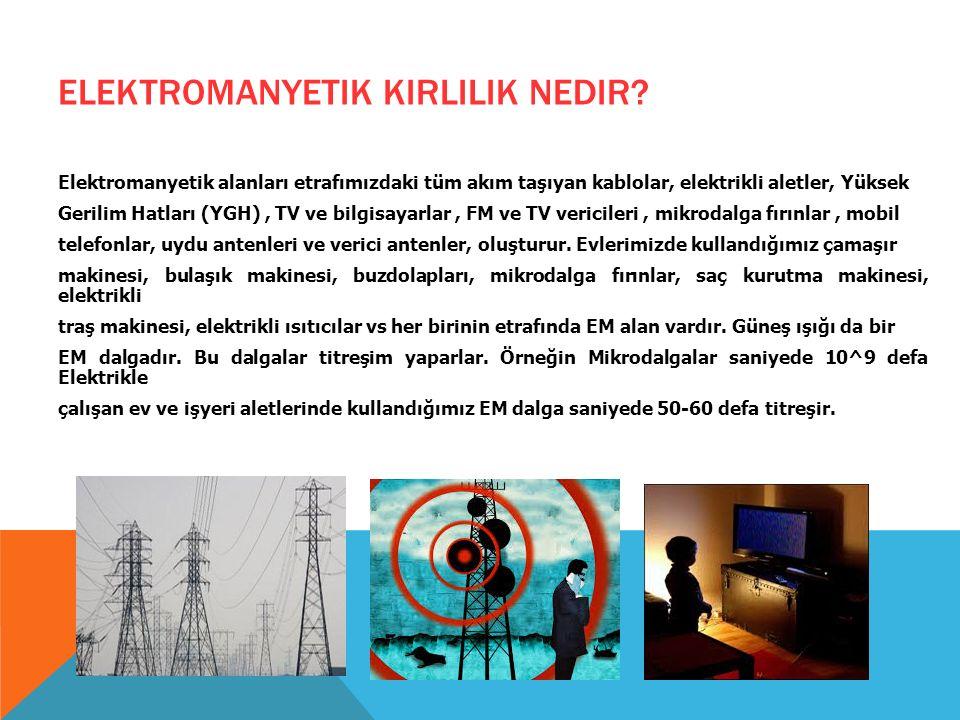 Elektromanyetik kirlilik nedir