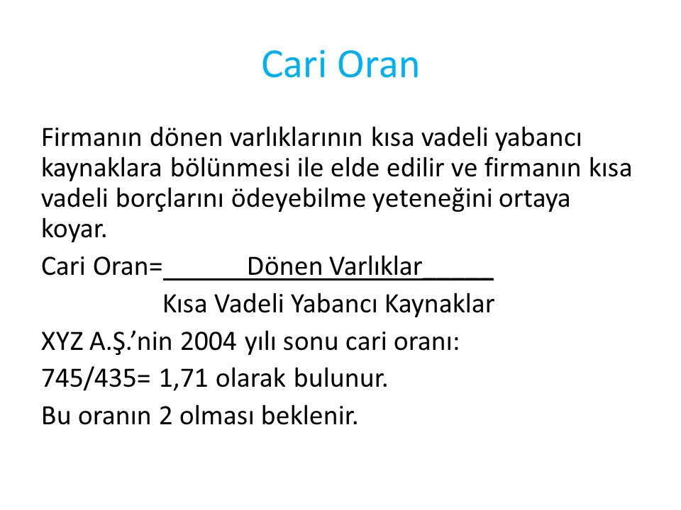 Cari Oran