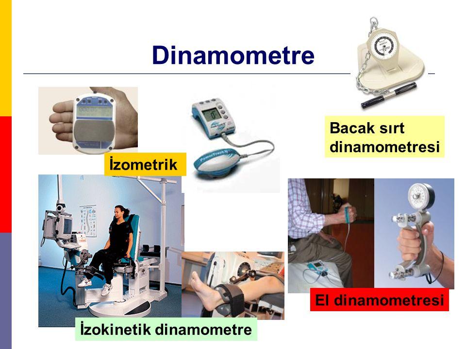 Dinamometre Bacak sırt dinamometresi İzometrik El dinamometresi