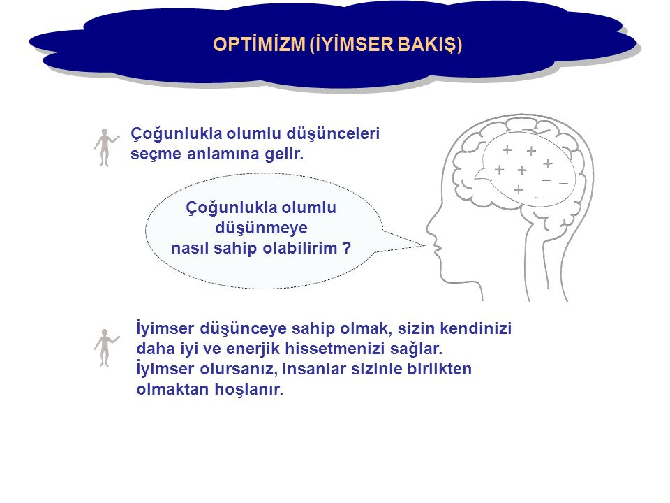 OPTİMİZM (İYİMSER BAKIŞ)