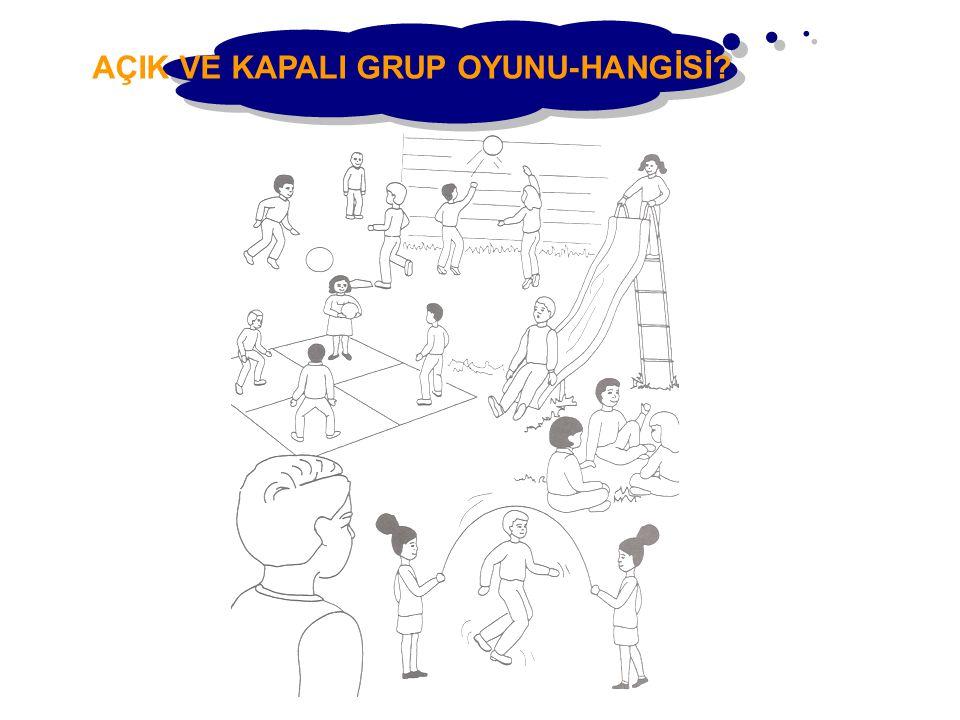 AÇIK VE KAPALI GRUP OYUNU-HANGİSİ