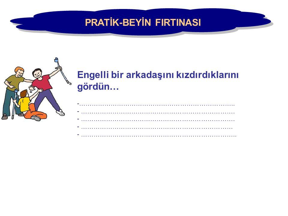 PRATİK-BEYİN FIRTINASI
