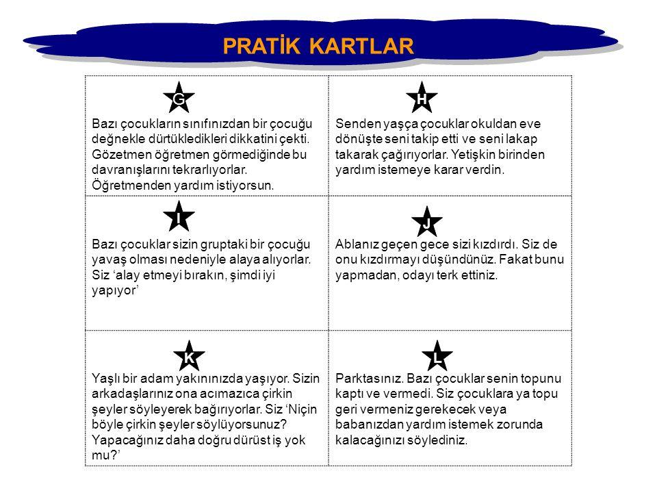 PRATİK KARTLAR