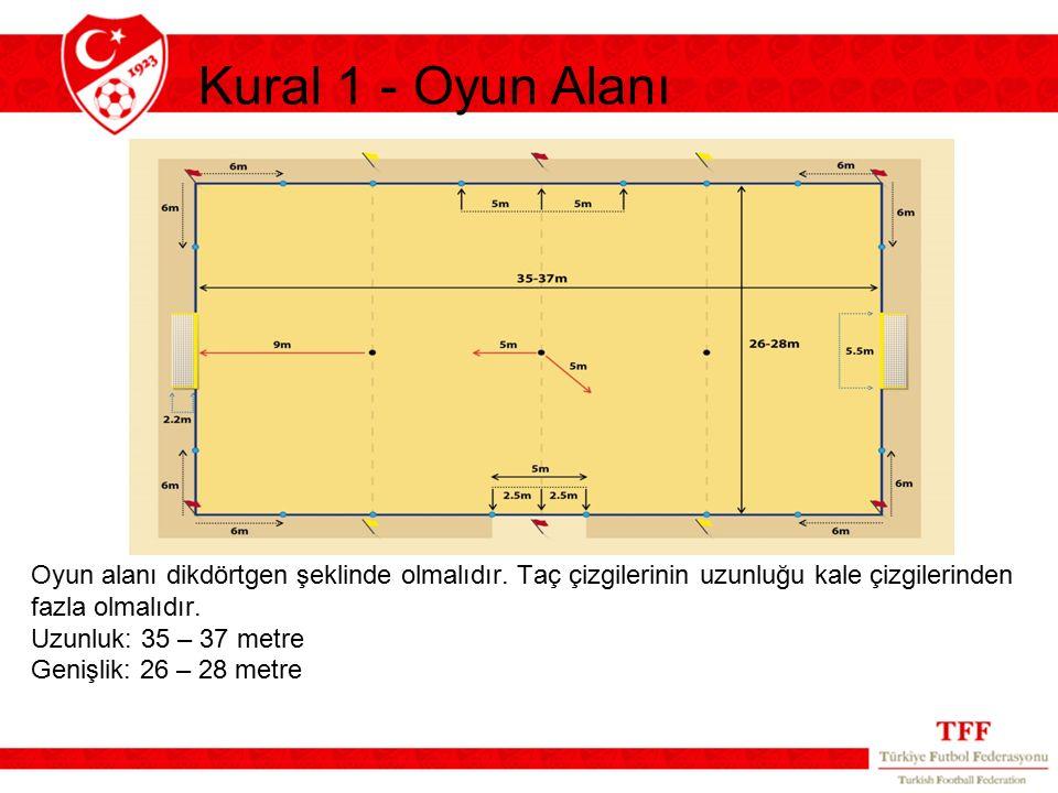 Kural 1 - Oyun Alanı