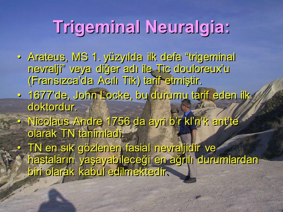 Trigeminal Neuralgia: