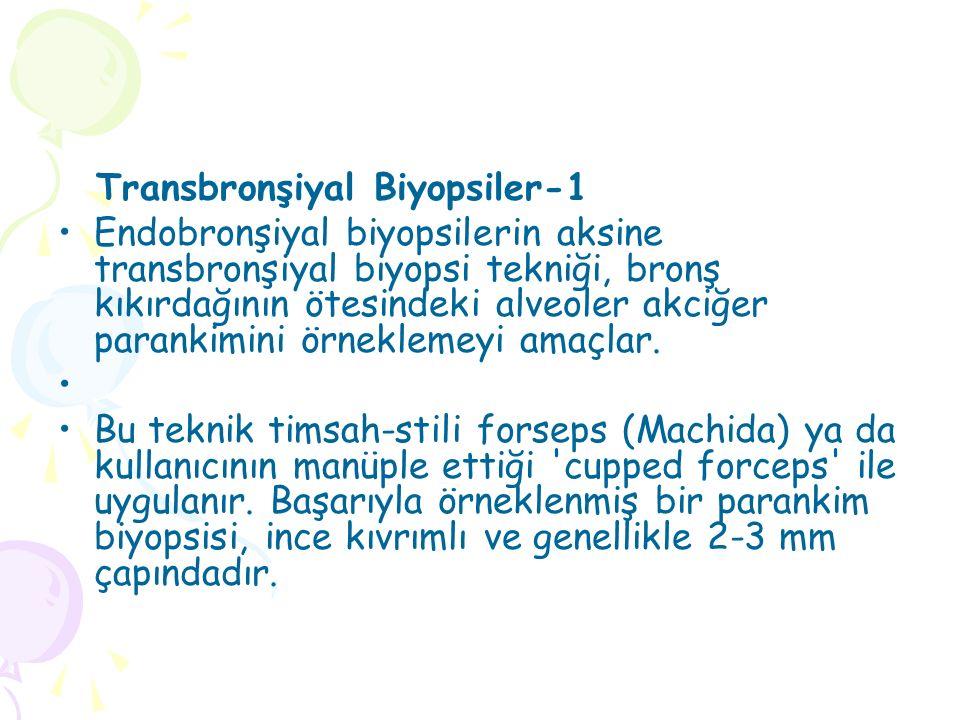 Transbronşiyal Biyopsiler-1