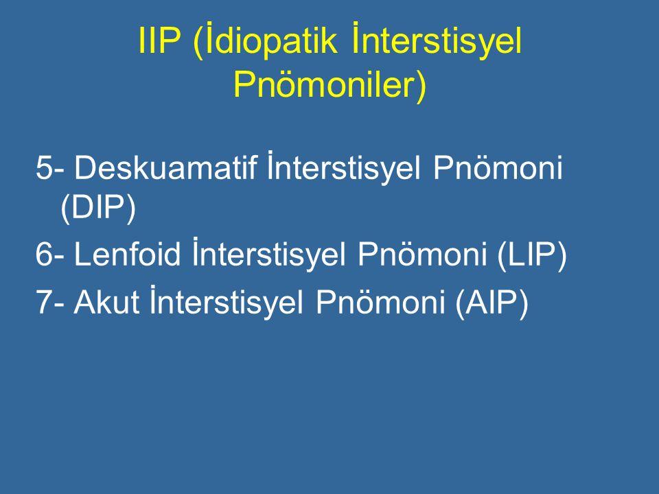 IIP (İdiopatik İnterstisyel Pnömoniler)