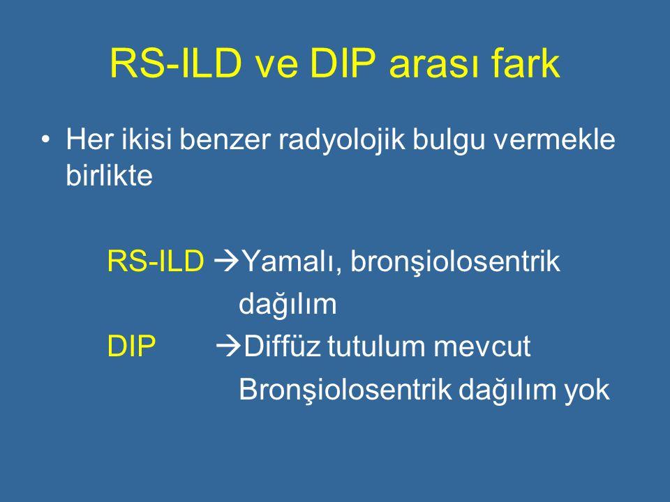 RS-ILD ve DIP arası fark