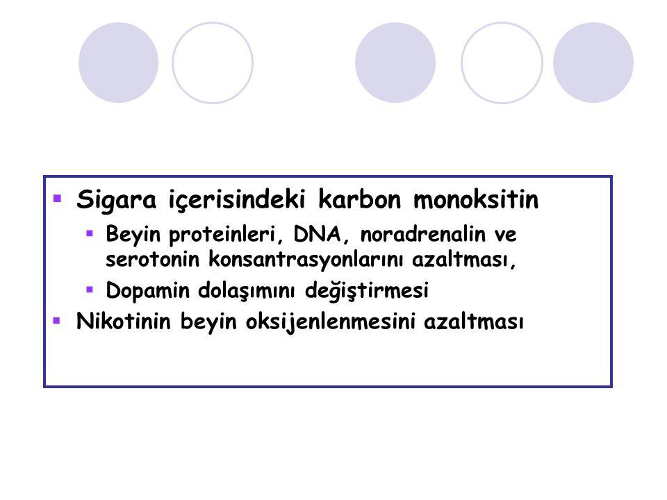 Sigara içerisindeki karbon monoksitin