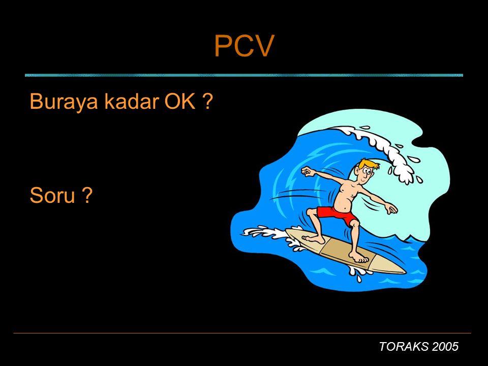 PCV Buraya kadar OK Soru