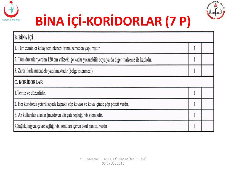 BİNA İÇİ-KORİDORLAR (7 P)