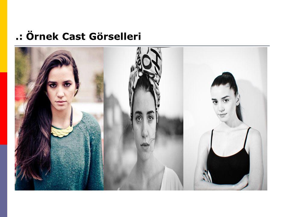 .: Örnek Cast Görselleri