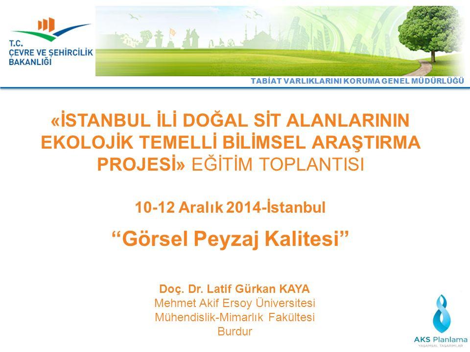 Doç. Dr. Latif Gürkan KAYA