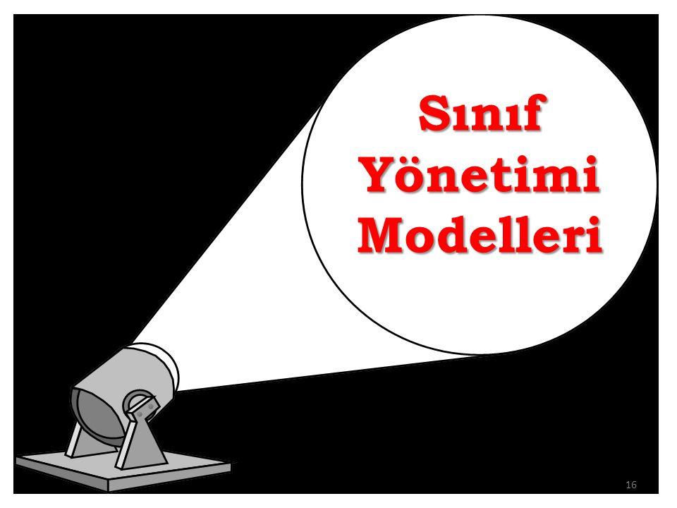 Sınıf Yönetimi Modelleri