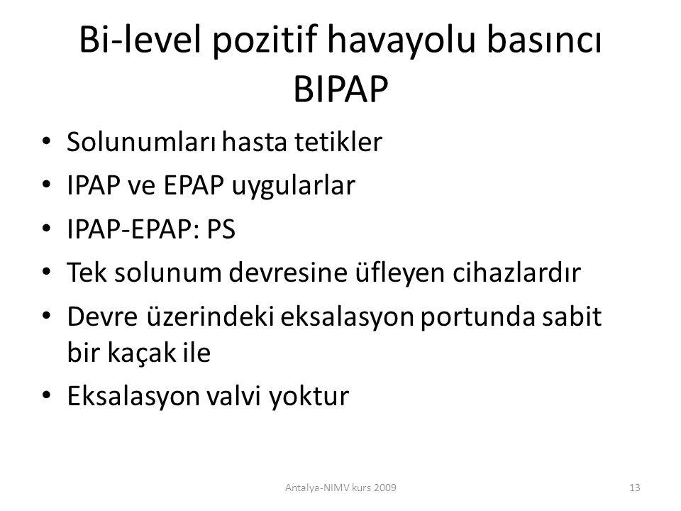Bi-level pozitif havayolu basıncı BIPAP