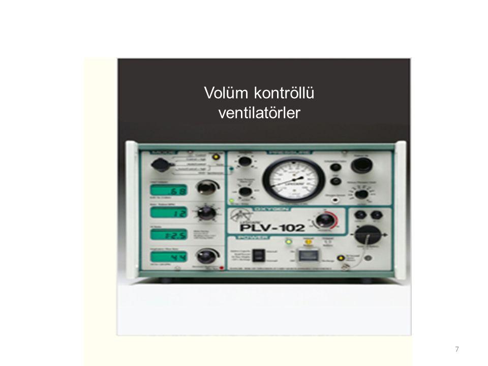 Volüm kontröllü ventilatörler