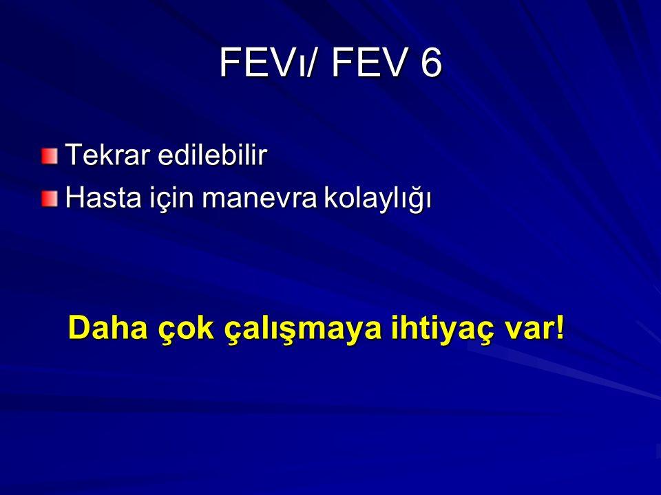 FEVı/ FEV 6 Daha çok çalışmaya ihtiyaç var! Tekrar edilebilir