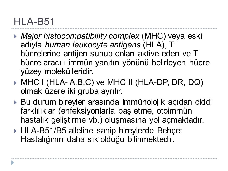HLA-B51