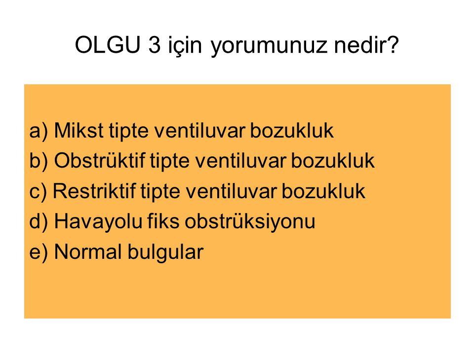 OLGU 3 için yorumunuz nedir