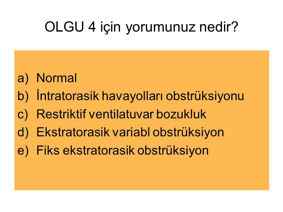 OLGU 4 için yorumunuz nedir