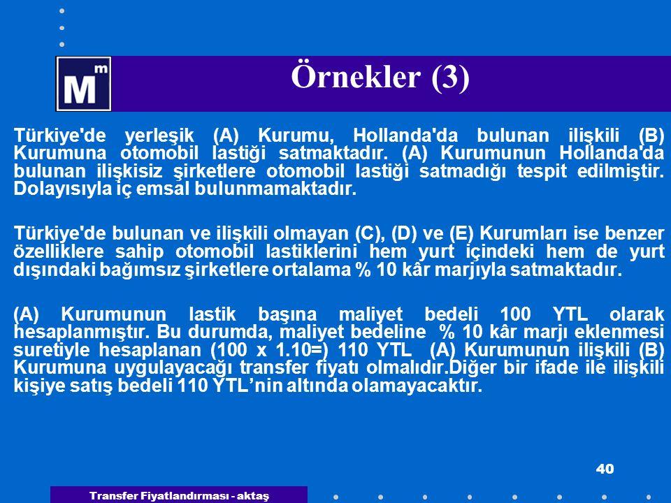Örnekler (3)