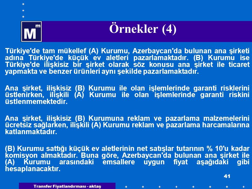 Örnekler (4)