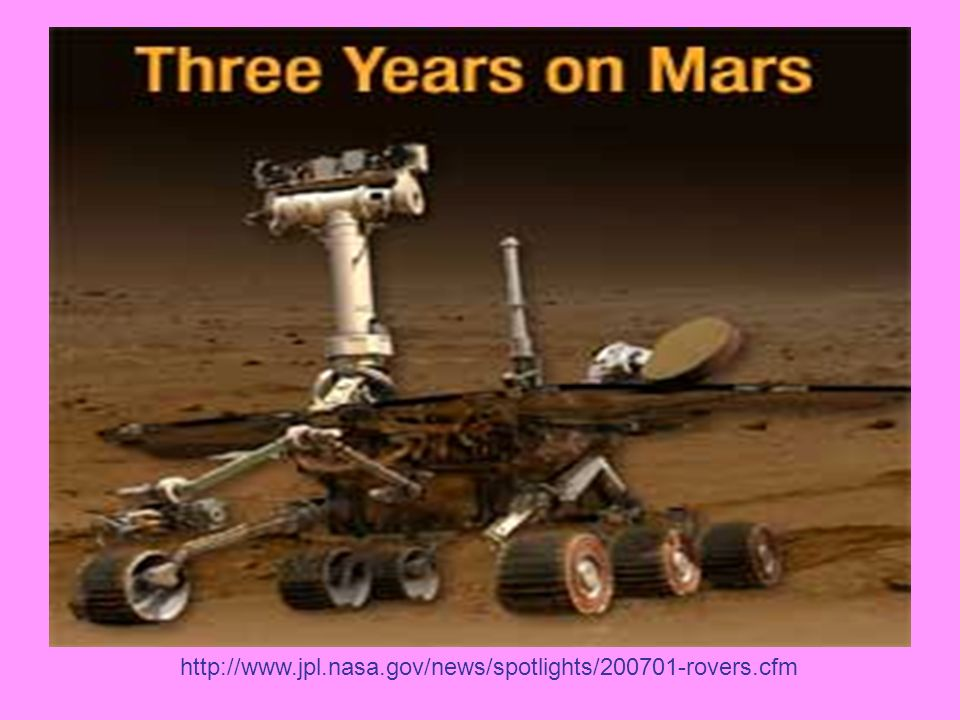 http://www.jpl.nasa.gov/news/spotlights/200701-rovers.cfm