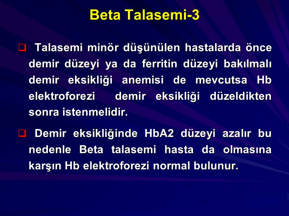 Beta Talasemi-3