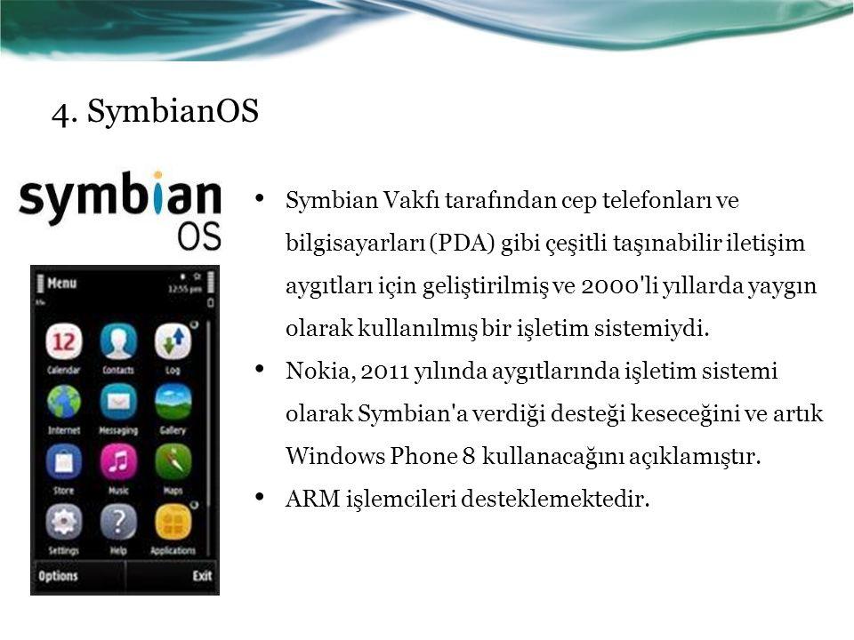 4. SymbianOS
