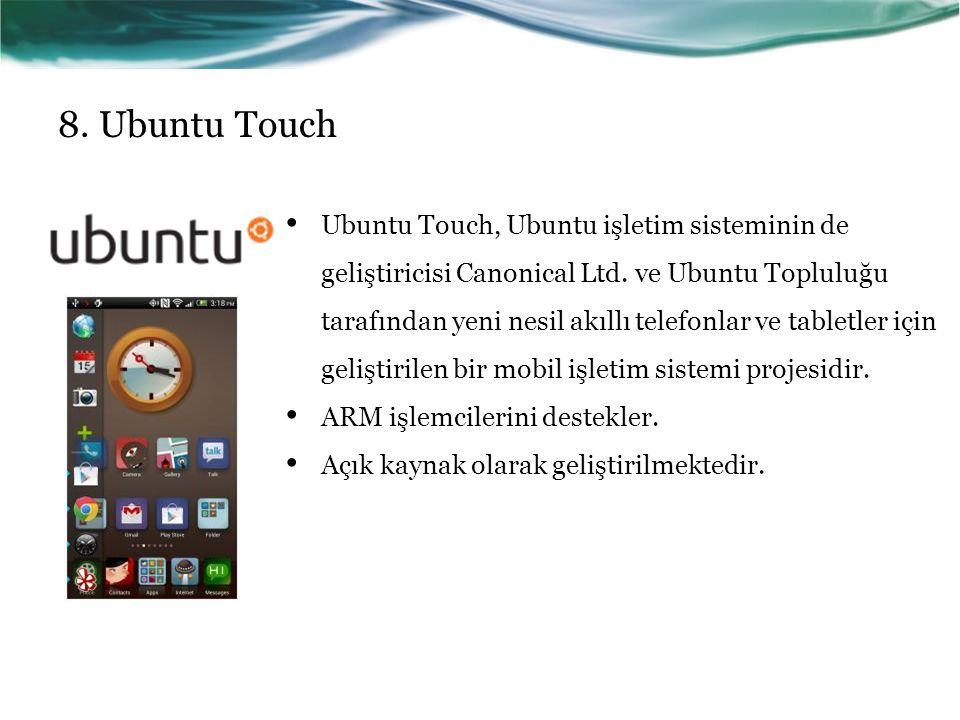 8. Ubuntu Touch