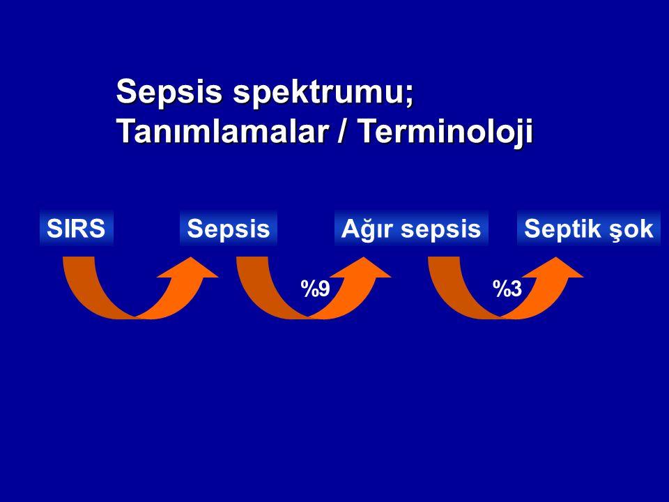 Sepsis spektrumu; Tanımlamalar / Terminoloji