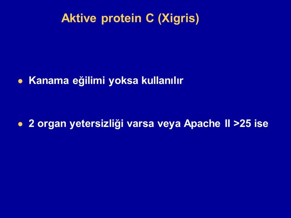 Aktive protein C (Xigris)