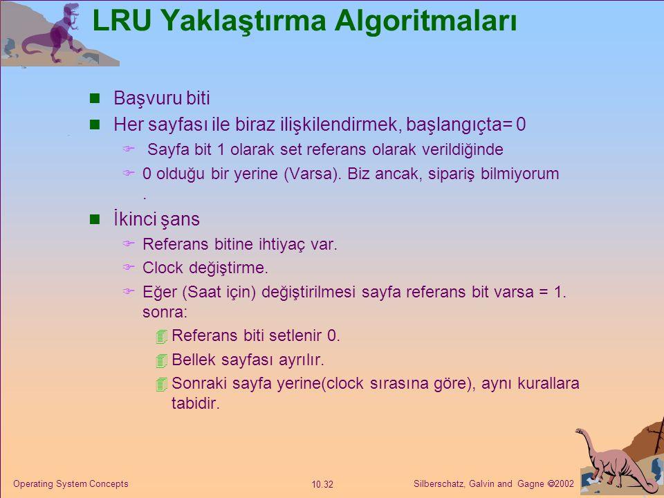LRU Yaklaştırma Algoritmaları