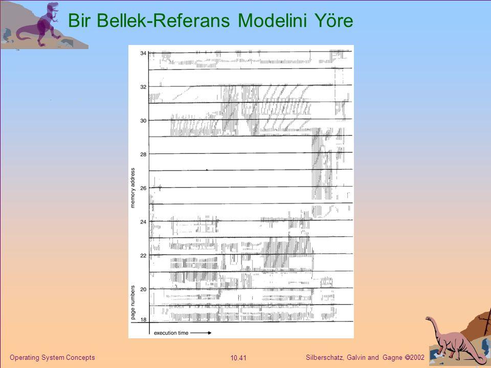 Bir Bellek-Referans Modelini Yöre