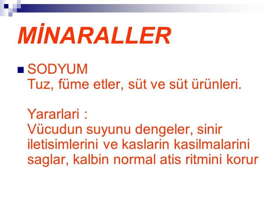 MİNARALLER