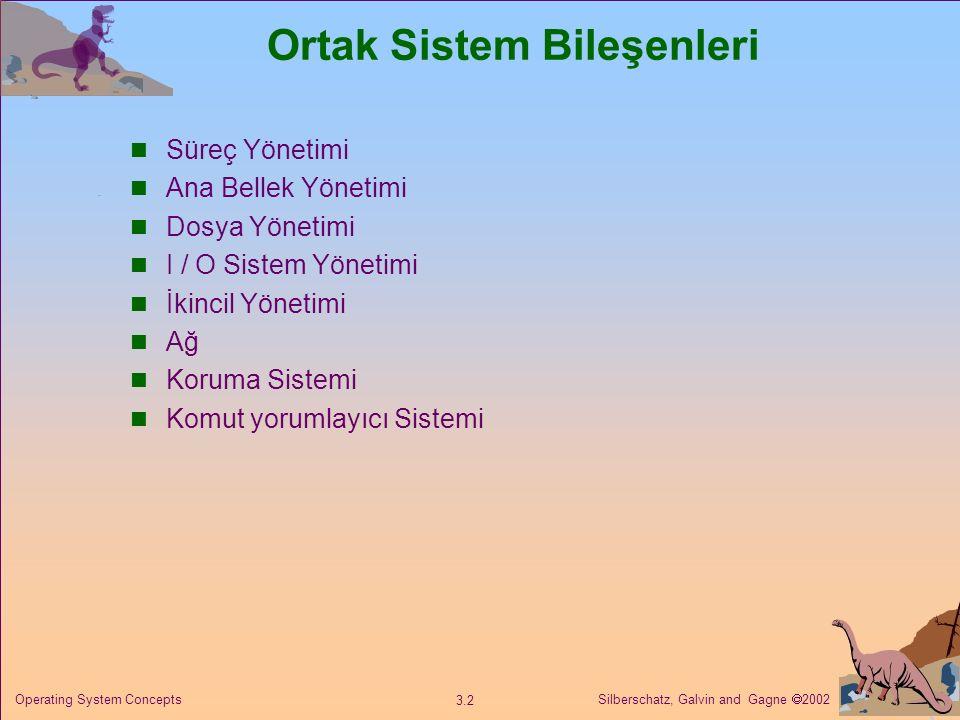 Ortak Sistem Bileşenleri
