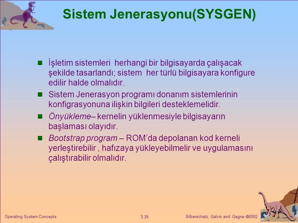 Sistem Jenerasyonu(SYSGEN)