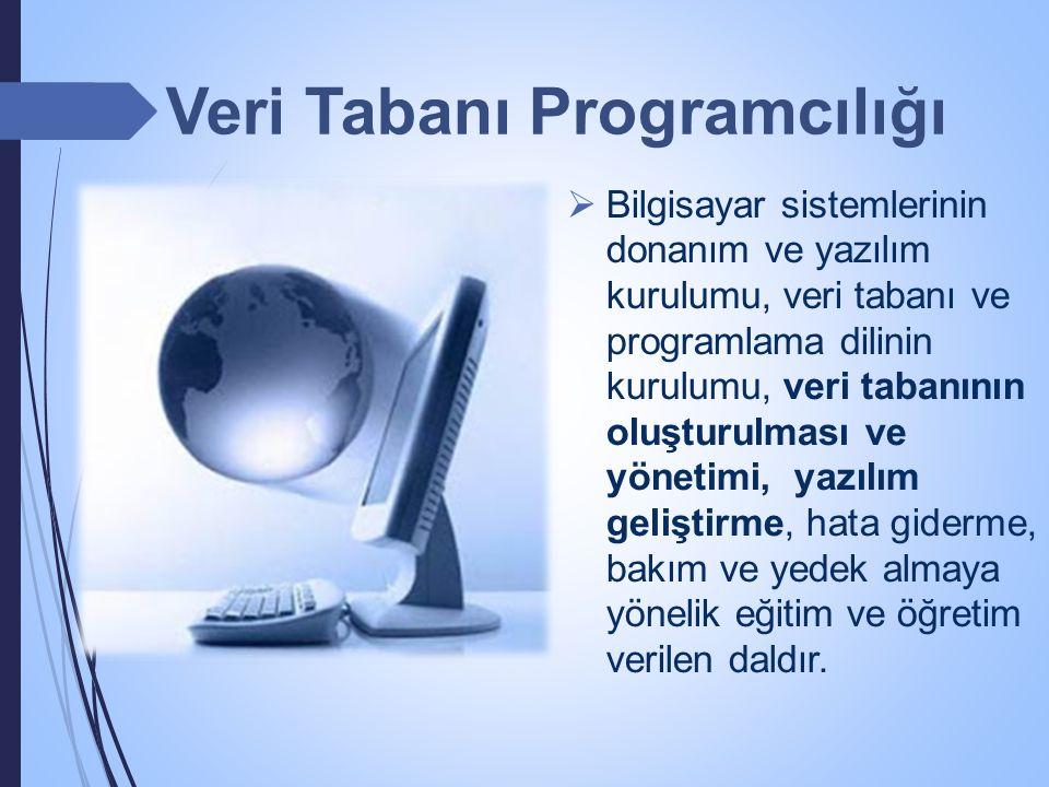 Veri Tabanı Programcılığı