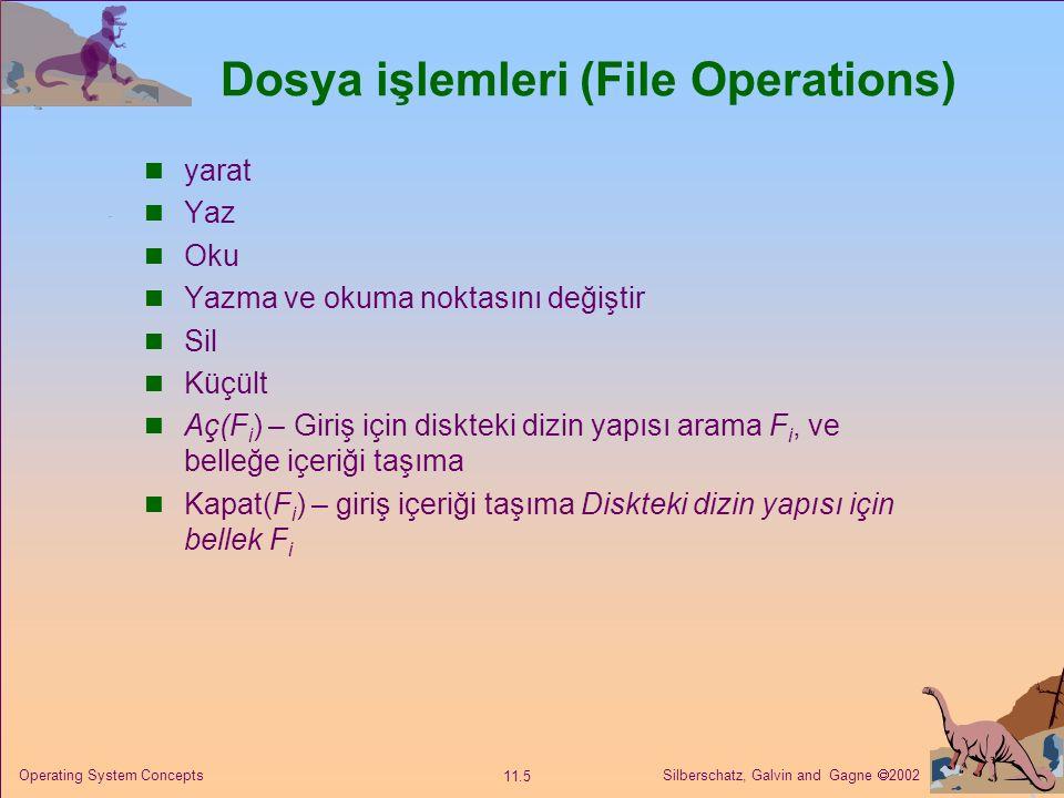 Dosya işlemleri (File Operations)