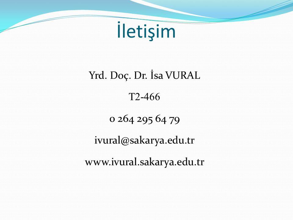 İletişim Yrd. Doç. Dr.