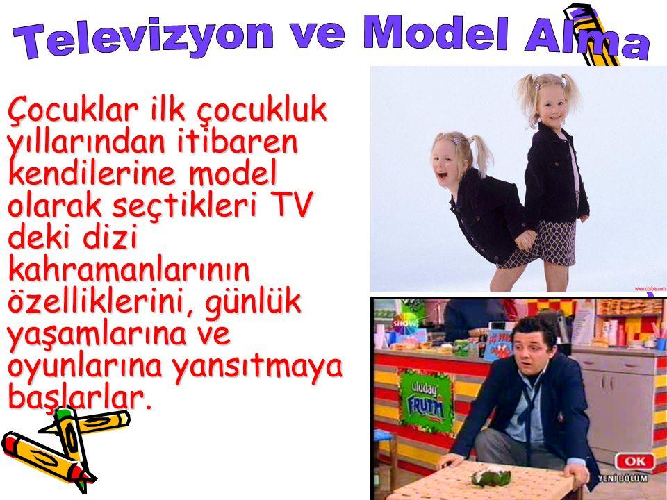 Televizyon ve Model Alma