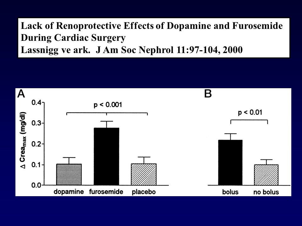 Lack of Renoprotective Effects of Dopamine and Furosemide