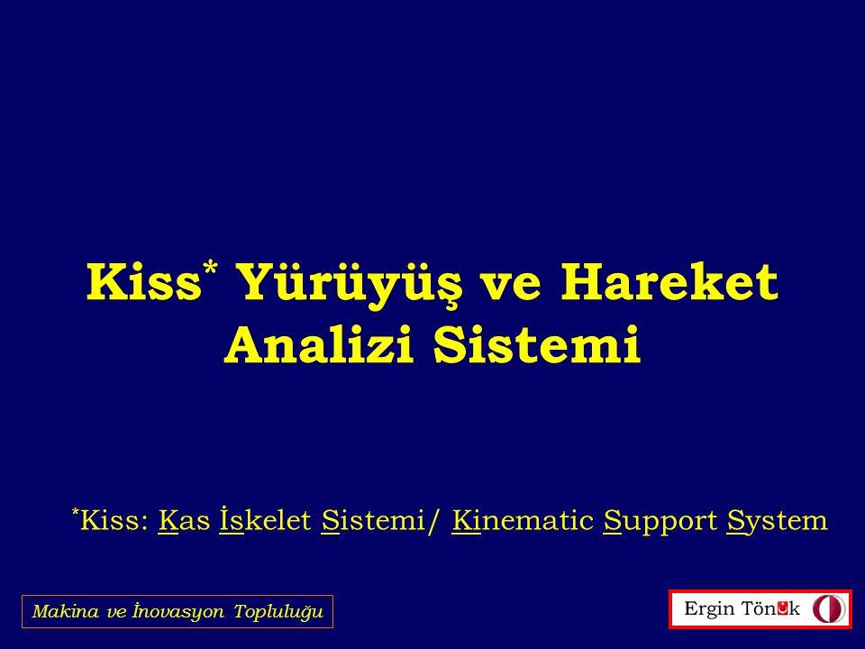 Kiss* Yürüyüş ve Hareket Analizi Sistemi