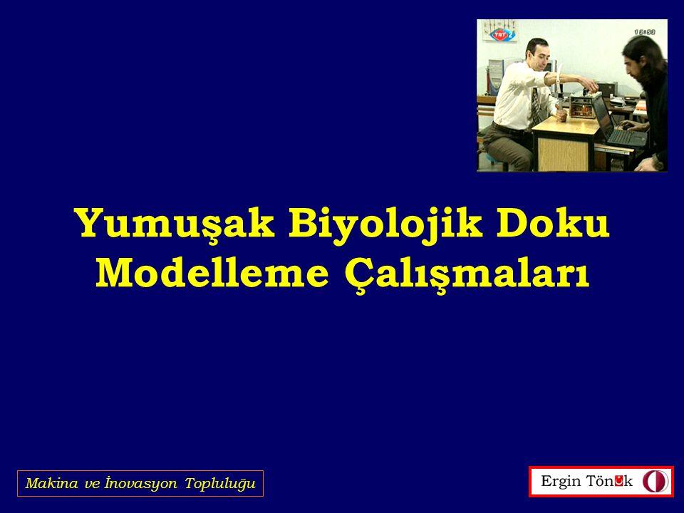 Yumuşak Biyolojik Doku Modelleme Çalışmaları