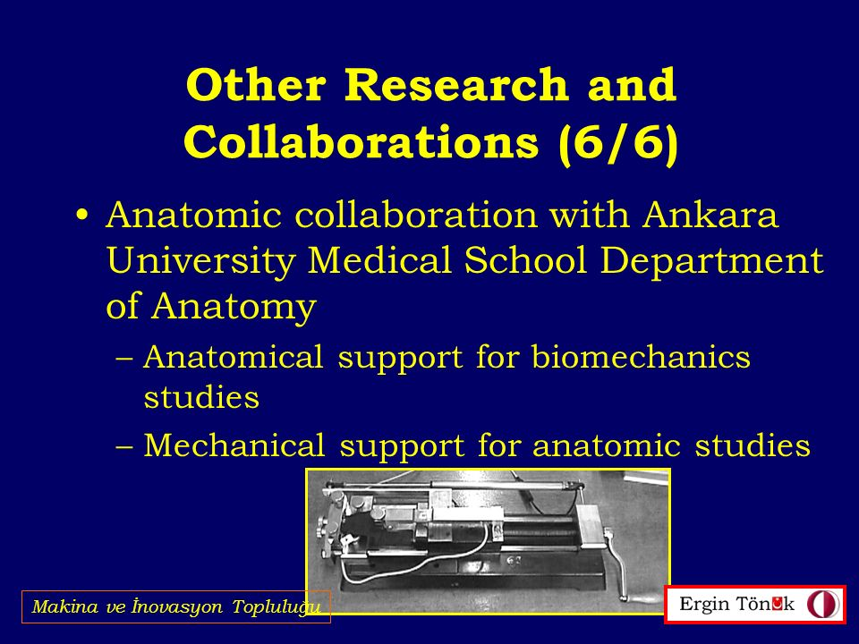 Other Research and Collaborations (6/6)