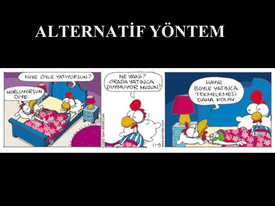 ALTERNATİF YÖNTEM