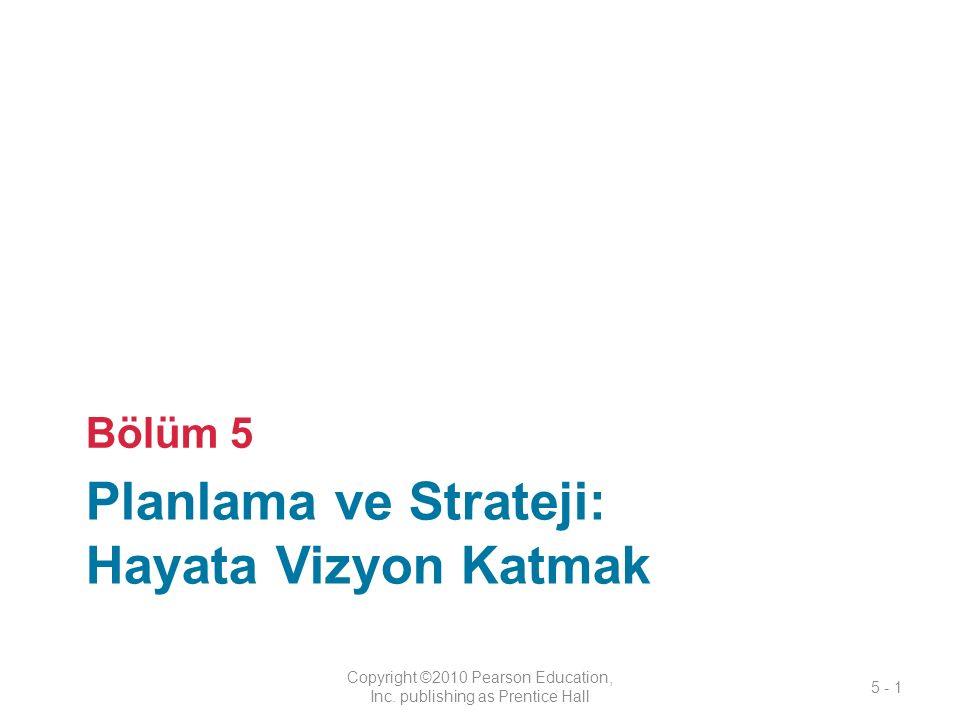 Planlama ve Strateji: Hayata Vizyon Katmak