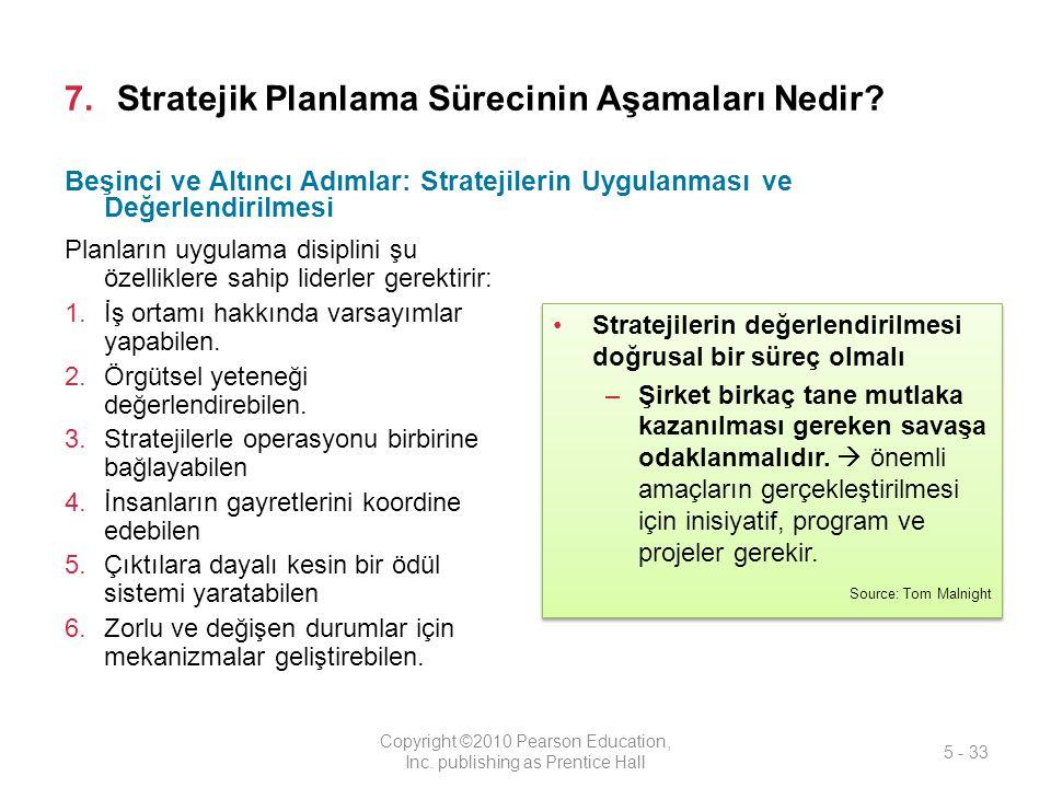 Stratejik Planlama Sürecinin Aşamaları Nedir