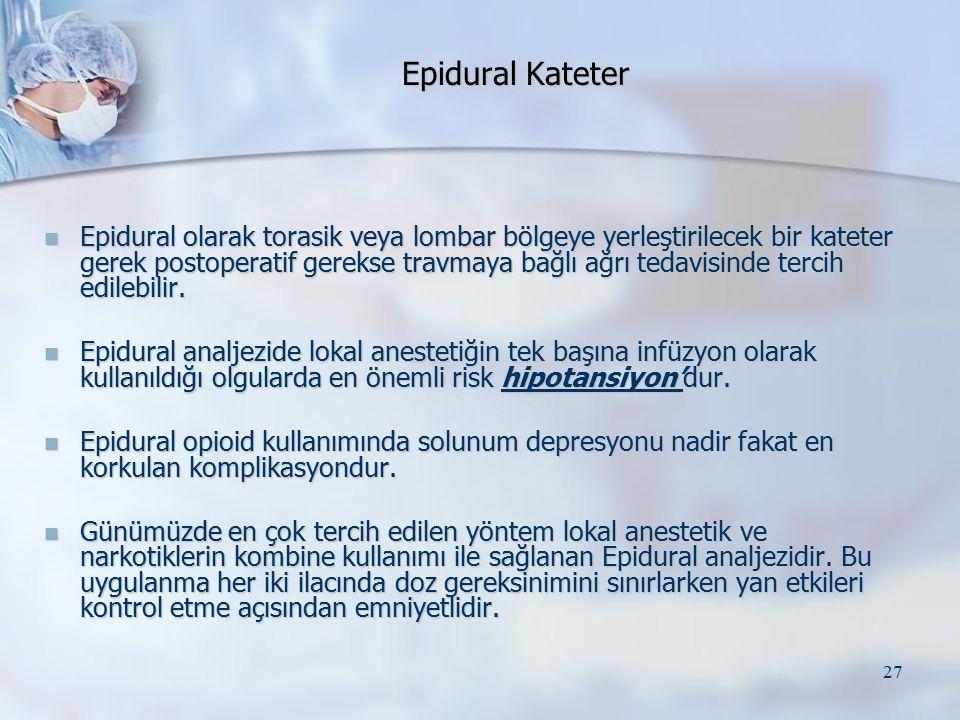 Epidural Kateter