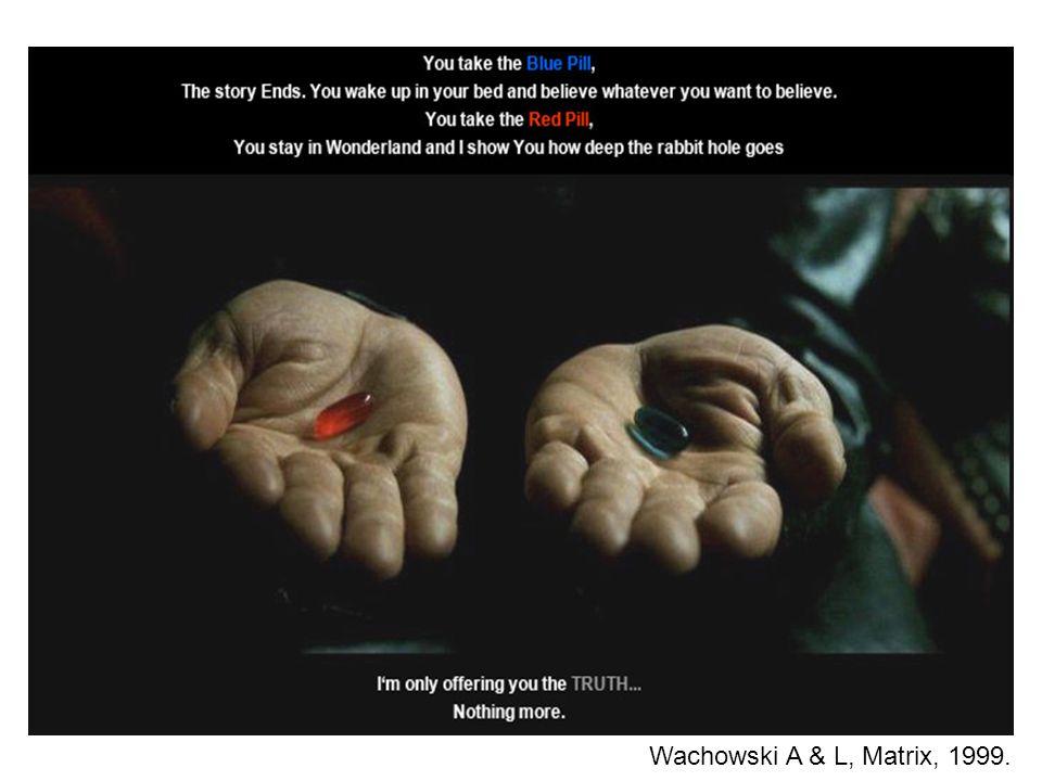Wachowski A & L, Matrix, 1999.
